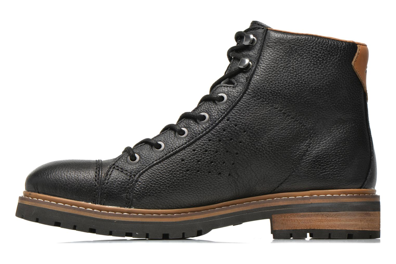 Bottines et boots Aigle Hawlin Noir vue face