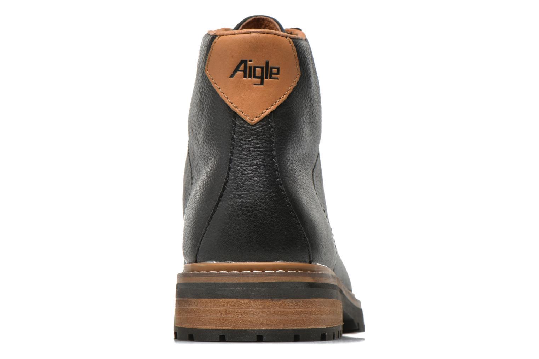 Bottines et boots Aigle Hawlin Noir vue droite