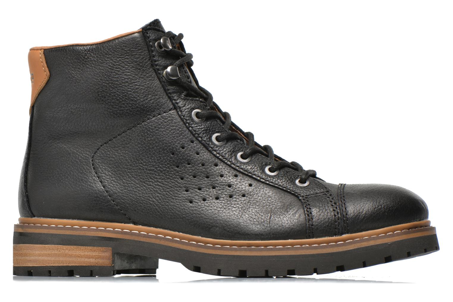 Ankle boots Aigle Hawlin Black back view