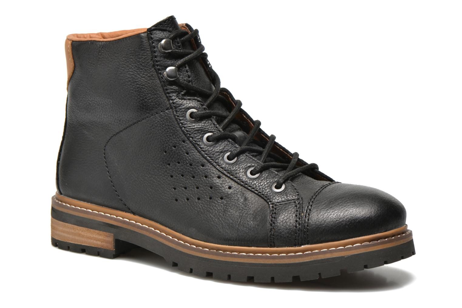 Ankle boots Aigle Hawlin Black detailed view/ Pair view