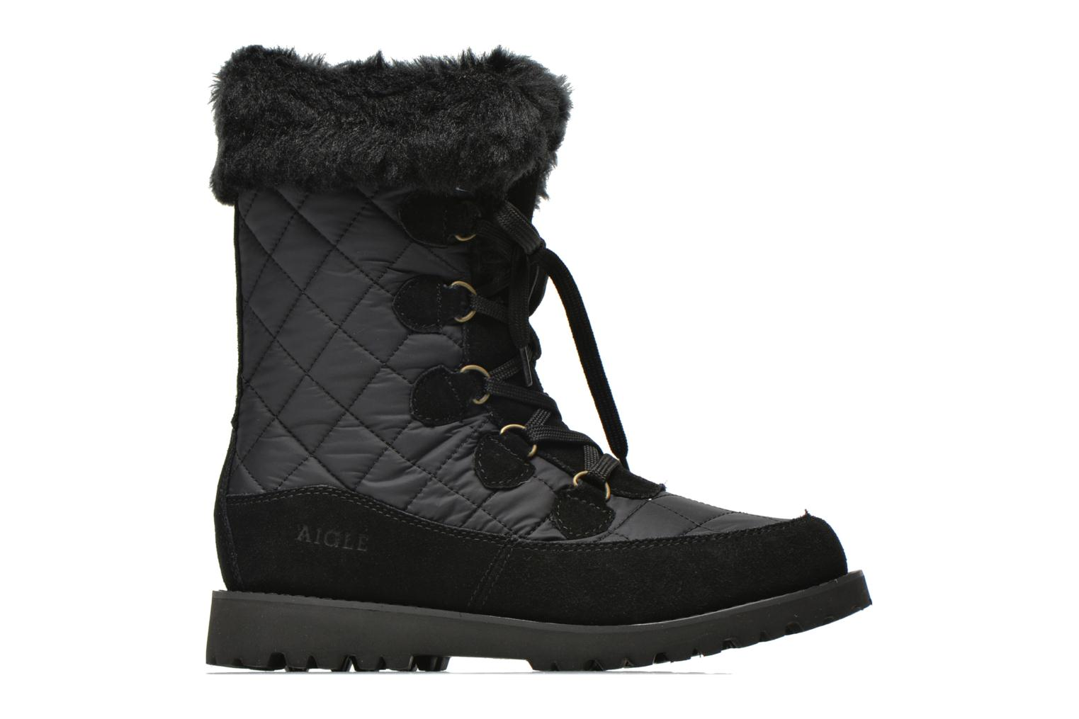 Ankle boots Aigle Lavras Black back view