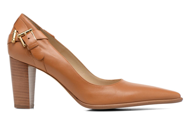 High heels San Marina Actea Brown back view