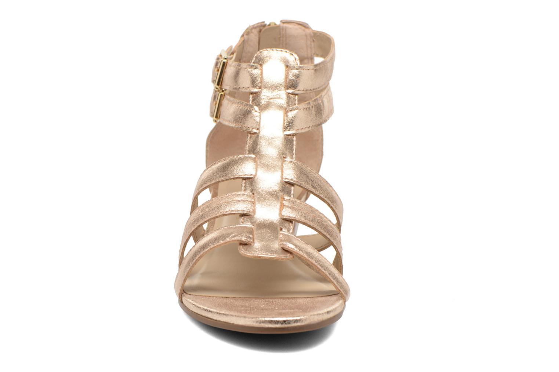 Sandales et nu-pieds San Marina Vurina/Met Or et bronze vue portées chaussures