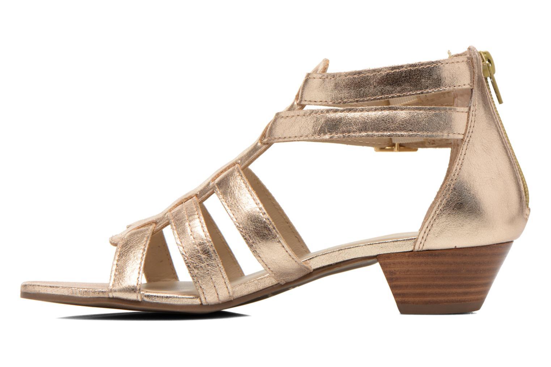 Sandales et nu-pieds San Marina Vurina/Met Or et bronze vue face