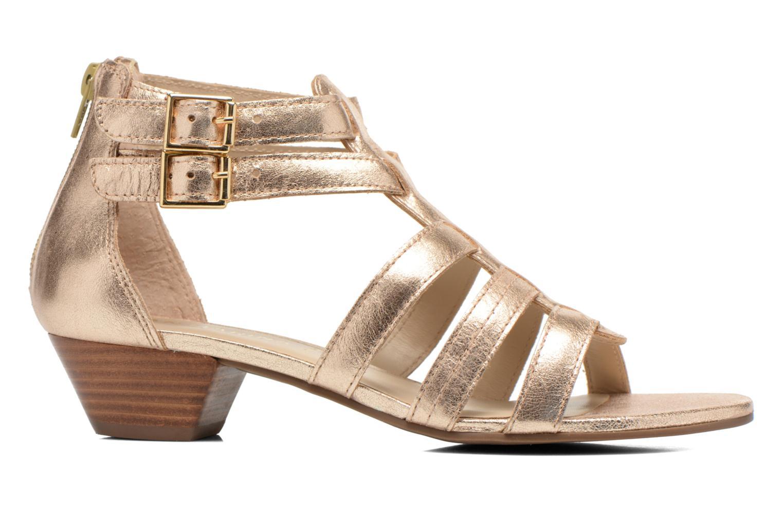 Sandales et nu-pieds San Marina Vurina/Met Or et bronze vue derrière