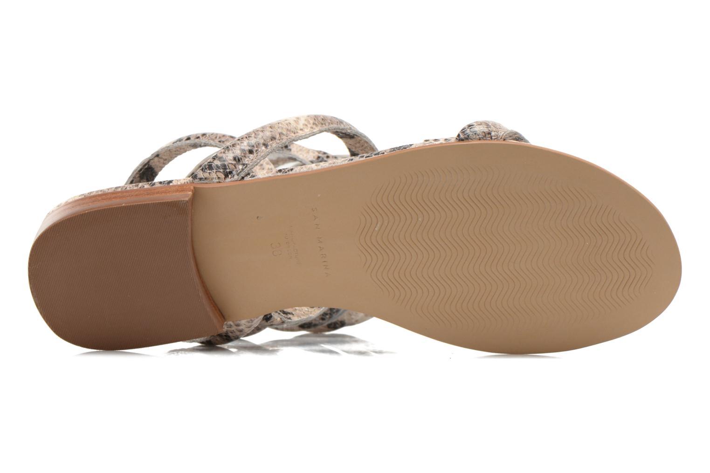 Sandales et nu-pieds San Marina Vedila/Serp Multicolore vue haut