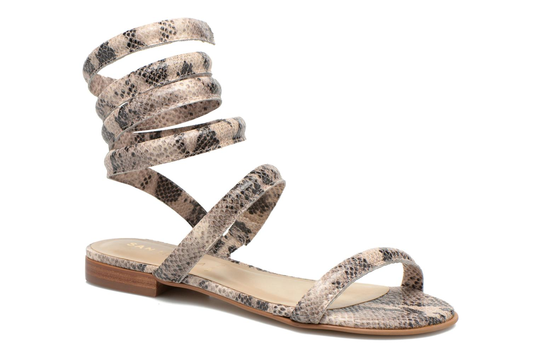 Sandales et nu-pieds San Marina Vedila/Serp Multicolore vue détail/paire