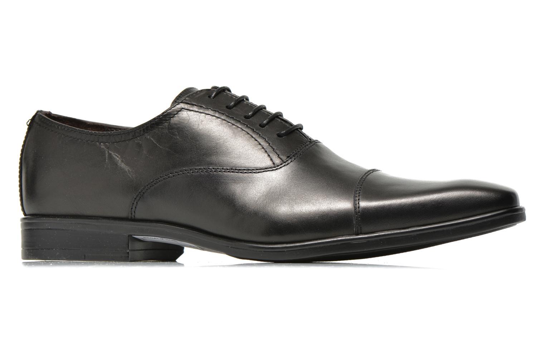 Zapatos con cordones San Marina Regaliz Negro vistra trasera