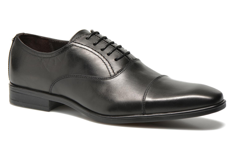 Zapatos con cordones San Marina Regaliz Negro vista de detalle / par