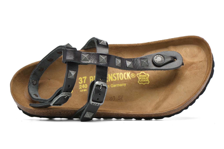 Sandales et nu-pieds Birkenstock Marillia Cuir Noir vue gauche