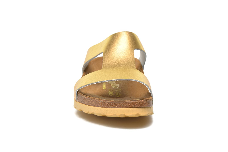 Mules et sabots Papillio Charlize Cuir W Or et bronze vue portées chaussures