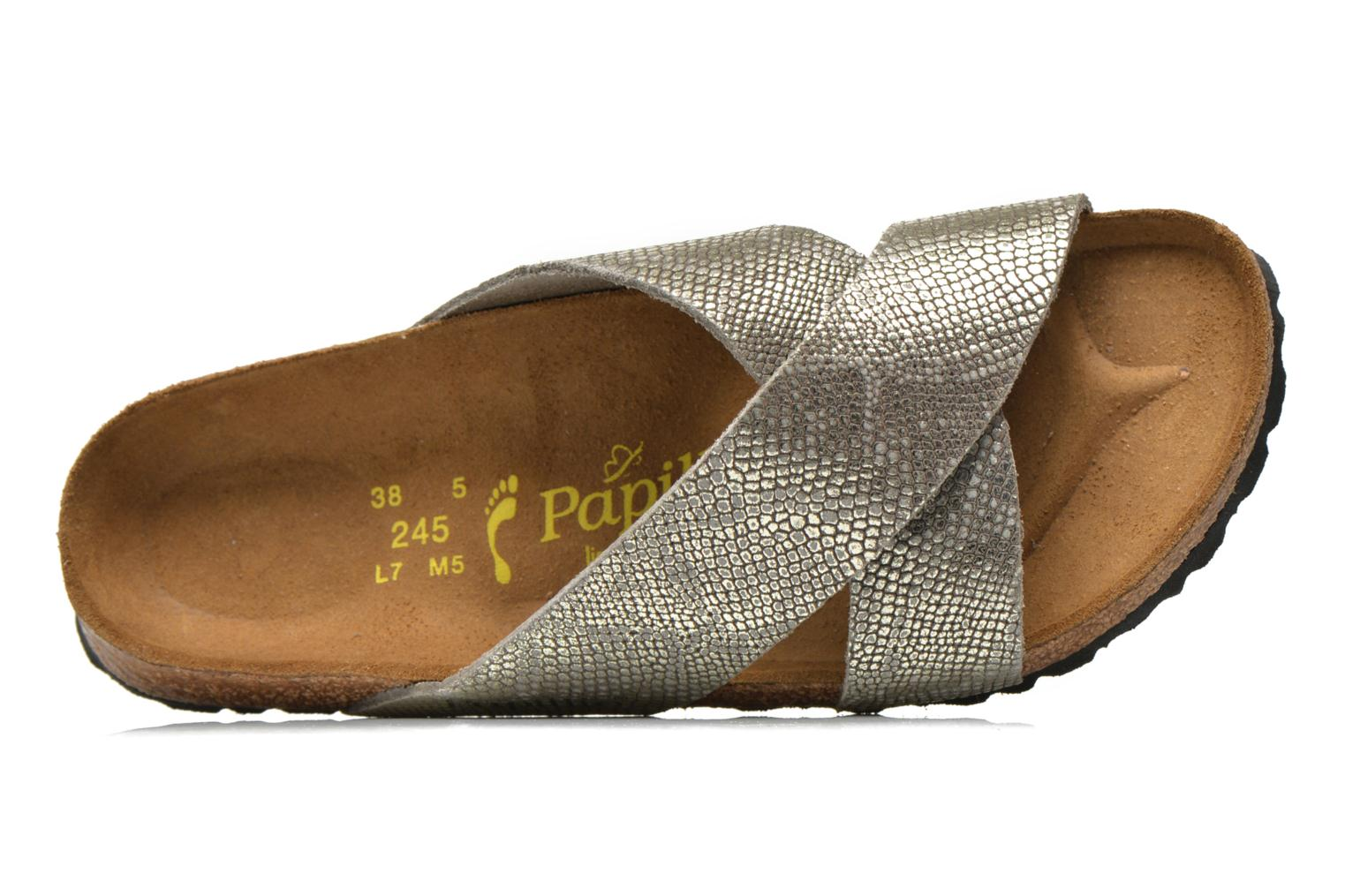 Mules & clogs Papillio Daytona Cuir Nubuck W Grey view from the left