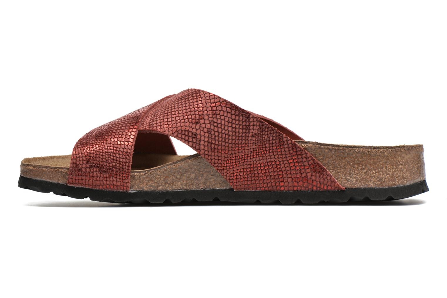 Mules & clogs Papillio Daytona Cuir Nubuck W Red front view