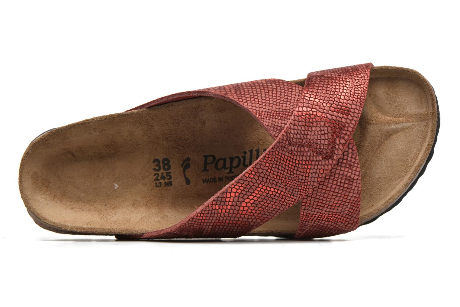 Mules & clogs Papillio Daytona Cuir Nubuck W Red view from the left