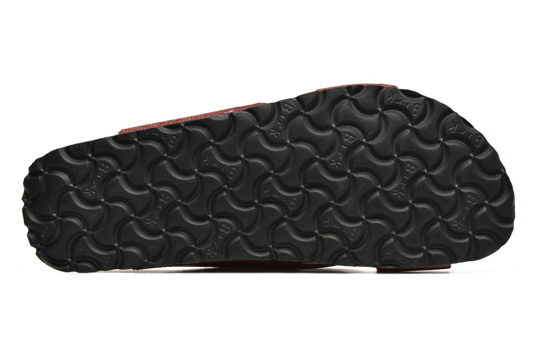 Clogs & Pantoletten Papillio Daytona Cuir Nubuck W rot ansicht von oben