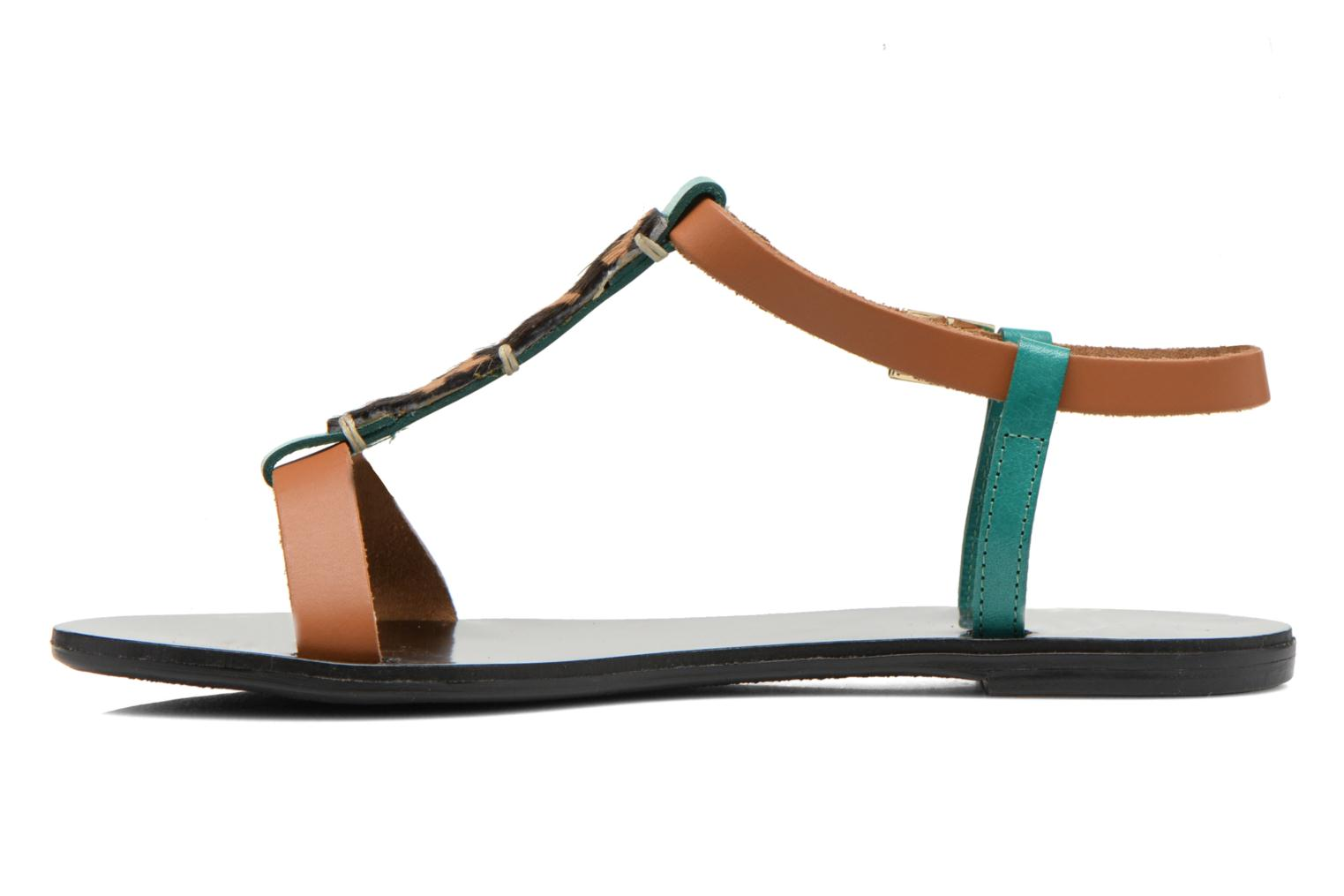 Sandals André Namibie 2 Multicolor front view