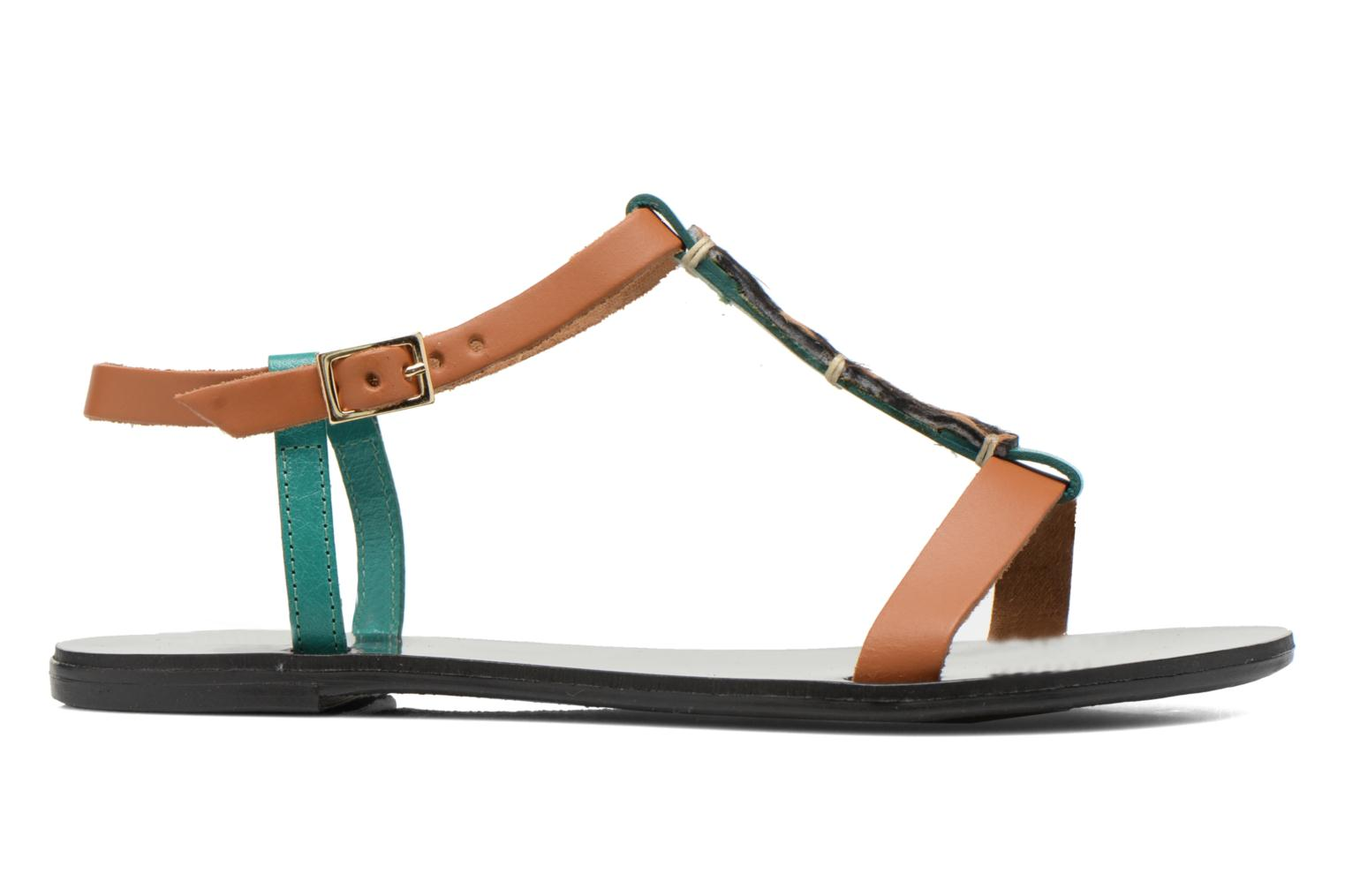 Sandals André Namibie 2 Multicolor back view