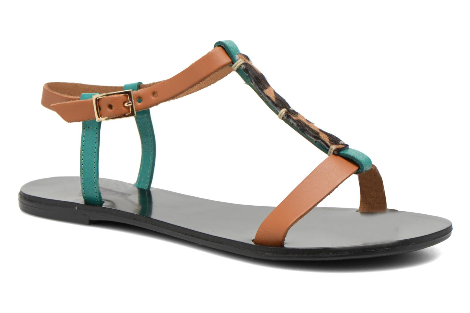 Sandals André Namibie 2 Multicolor detailed view/ Pair view