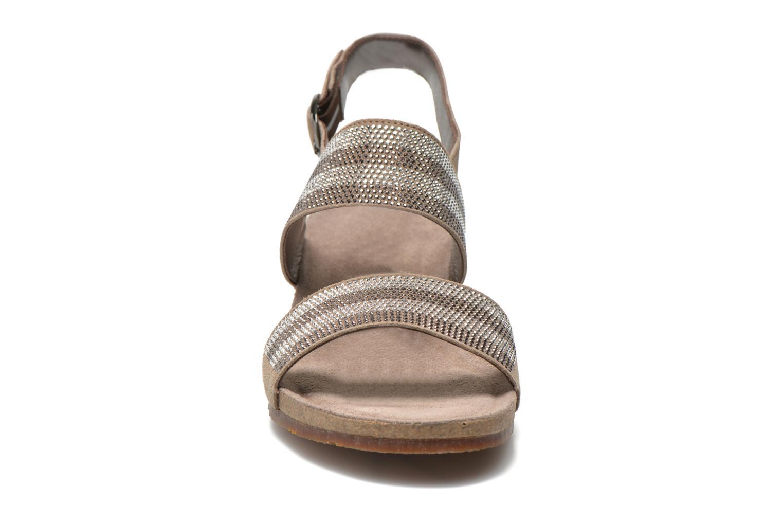 Sandales et nu-pieds Mephisto MAURANE Beige vue portées chaussures