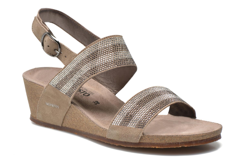 Sandales et nu-pieds Mephisto MAURANE Beige vue détail/paire