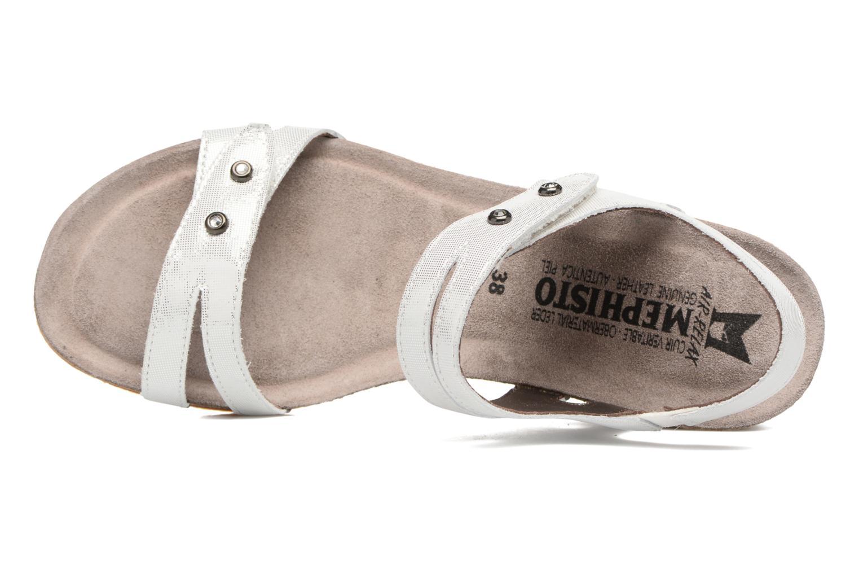 Sandales et nu-pieds Mephisto MINOA Blanc vue gauche