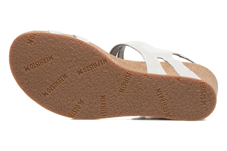 Sandales et nu-pieds Mephisto MINOA Blanc vue haut