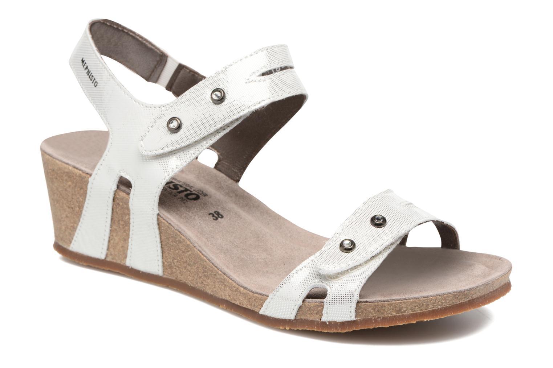 Sandales et nu-pieds Mephisto MINOA Blanc vue détail/paire