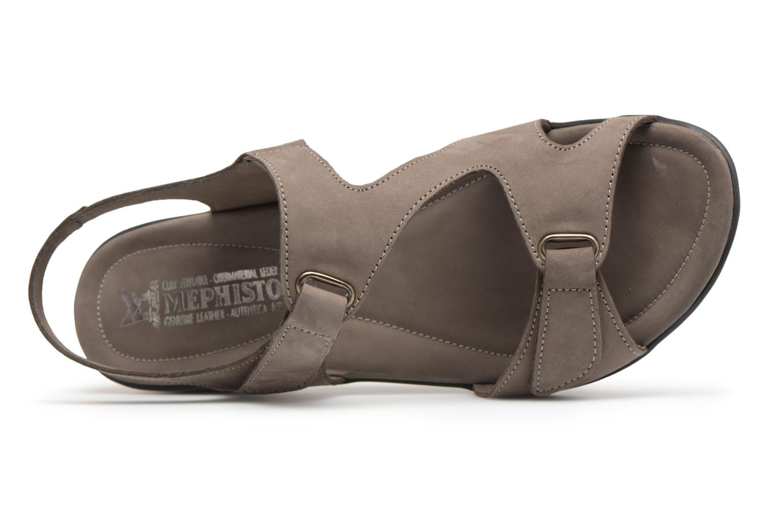 Sandals Mephisto PARIS Grey view from the left