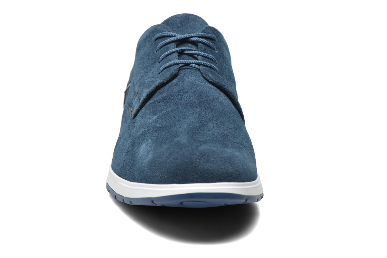 Baskets Mephisto VALERIO Bleu vue portées chaussures