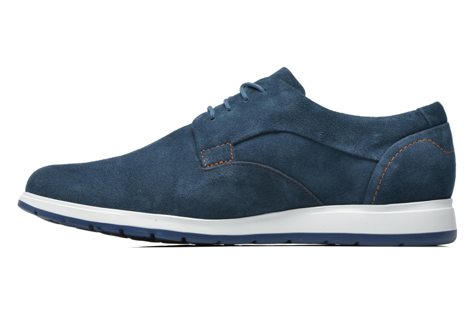 Trainers Mephisto VALERIO Blue front view