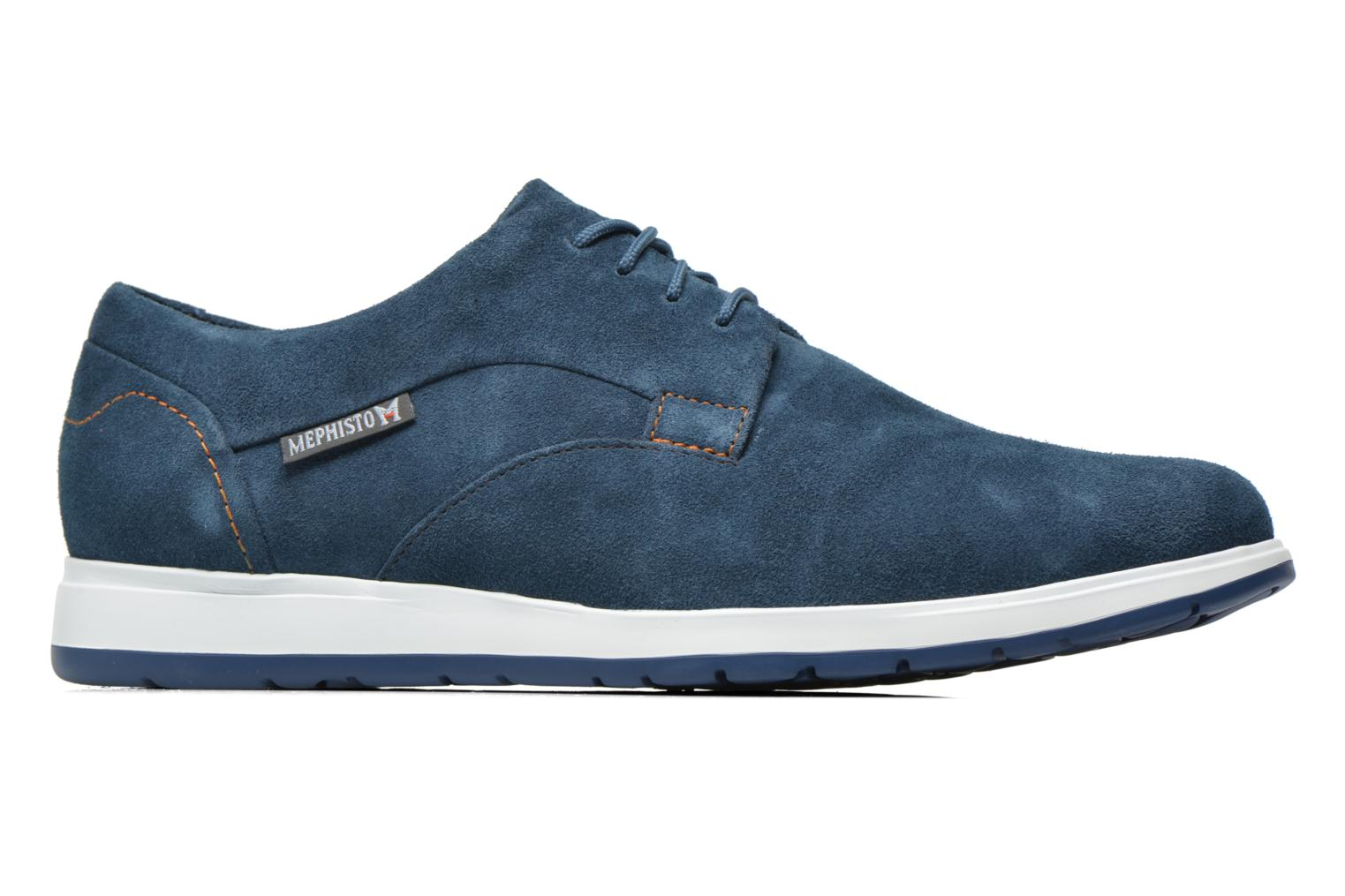 Trainers Mephisto VALERIO Blue back view