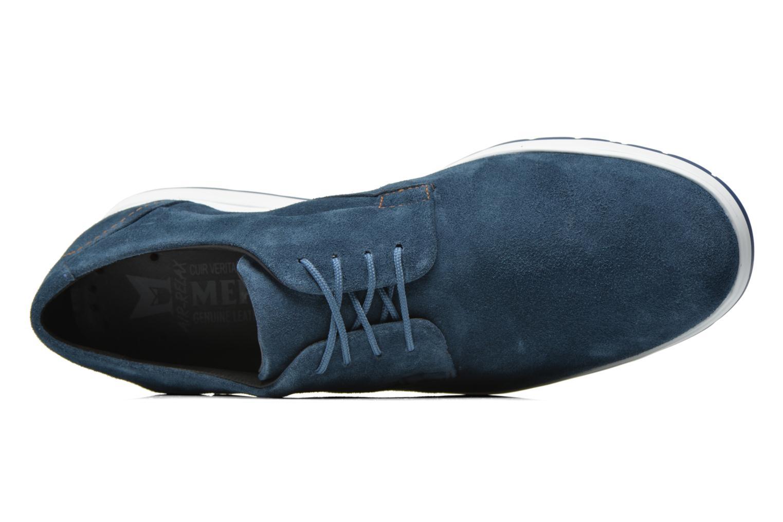 Baskets Mephisto VALERIO Bleu vue gauche