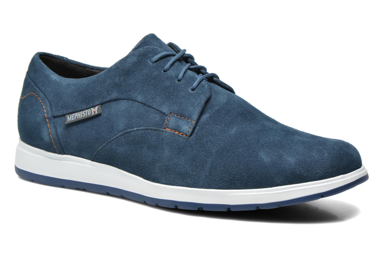Trainers Mephisto VALERIO Blue detailed view/ Pair view