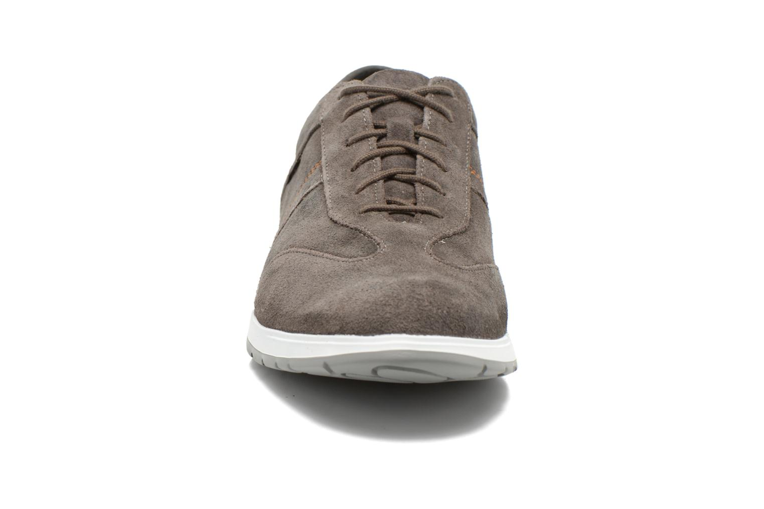 Trainers Mephisto VINCENZO Grey model view
