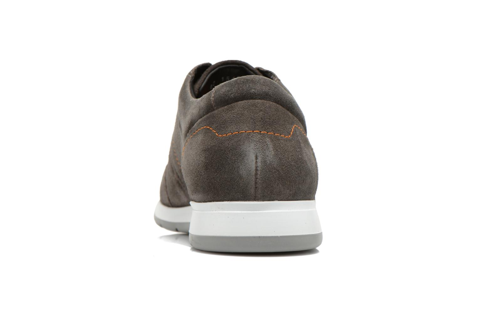 Trainers Mephisto VINCENZO Grey view from the right