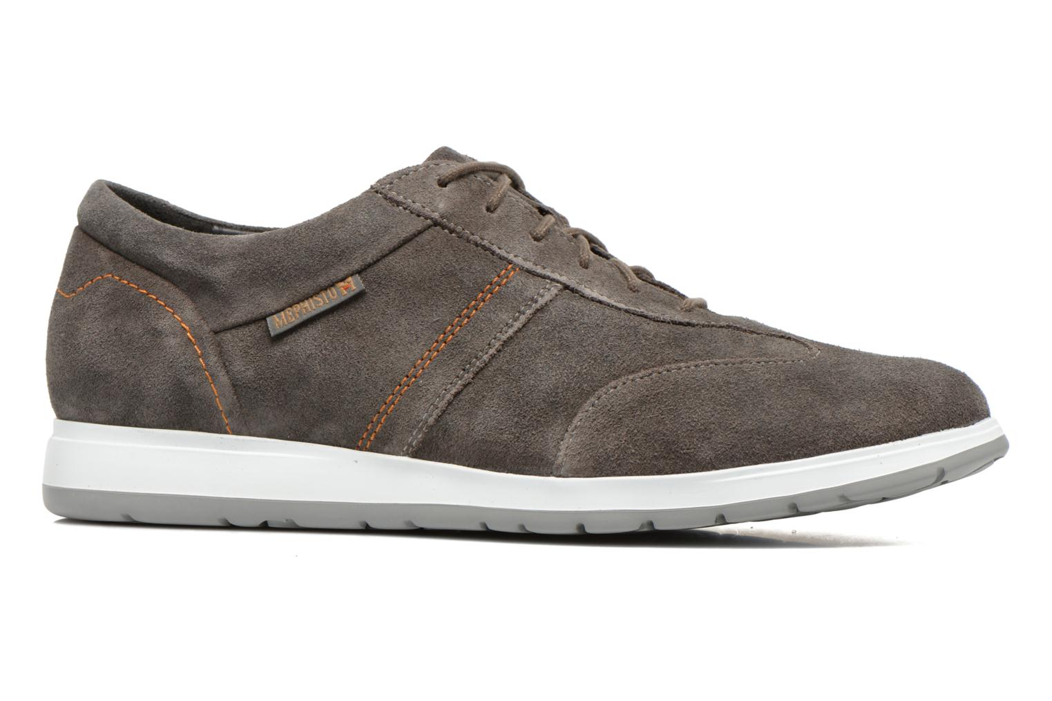 Trainers Mephisto VINCENZO Grey back view