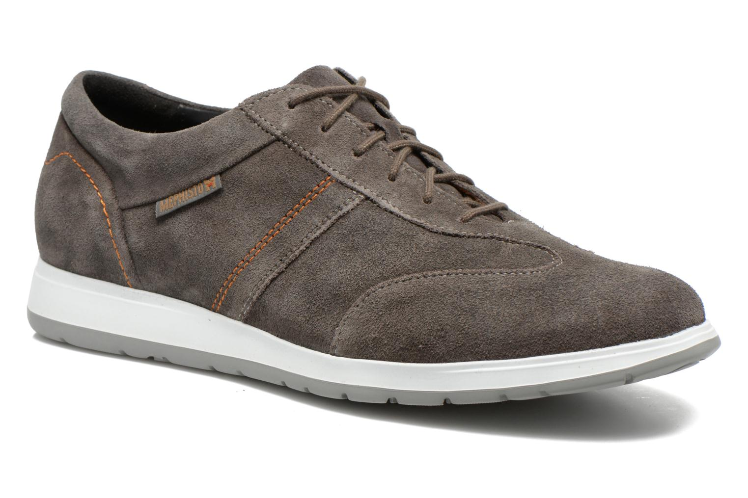 Trainers Mephisto VINCENZO Grey detailed view/ Pair view