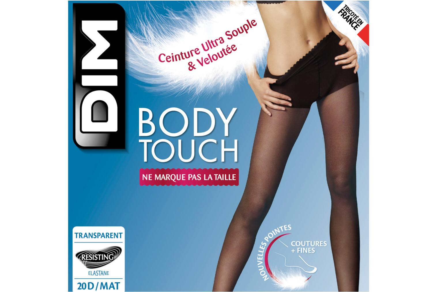 Collant BODYTOUCH VOILE Noir