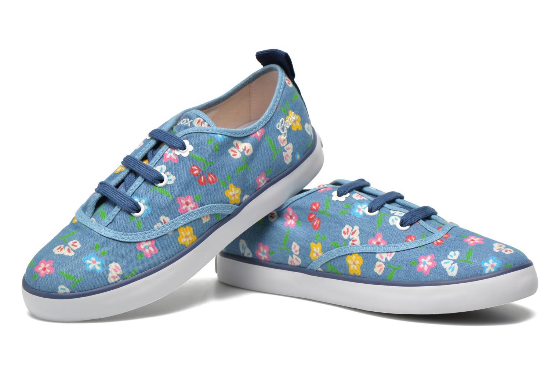 Sneaker Geox JR Ciak Girl J5204E blau 3 von 4 ansichten