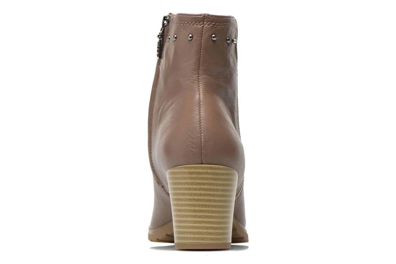 Bottines et boots Geox D Lise ABX D52D1C Marron vue droite
