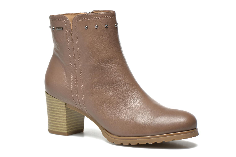 Bottines et boots Geox D Lise ABX D52D1C Marron vue détail/paire