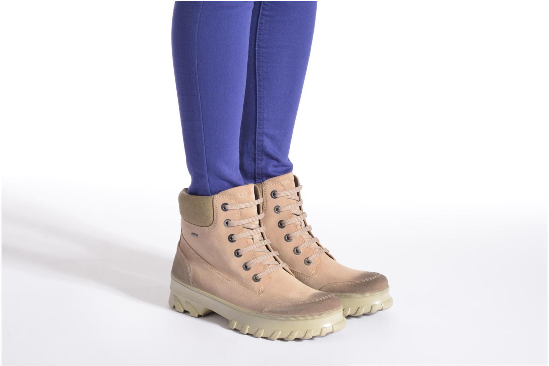 Stiefeletten & Boots Geox D Yeti B ABX D44U1B grün ansicht von unten / tasche getragen