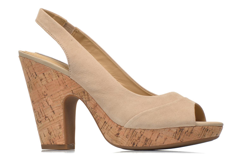 Sandali e scarpe aperte Geox D Nurit D5271B Beige immagine posteriore