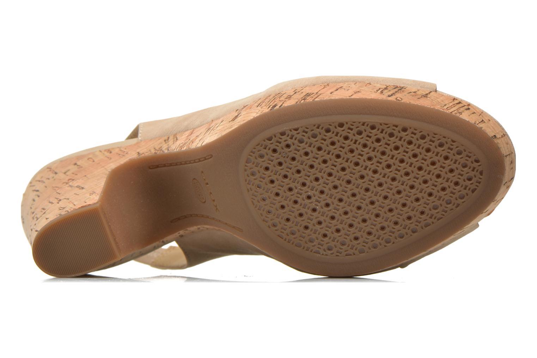 Sandali e scarpe aperte Geox D Nurit D5271B Beige immagine dall'alto