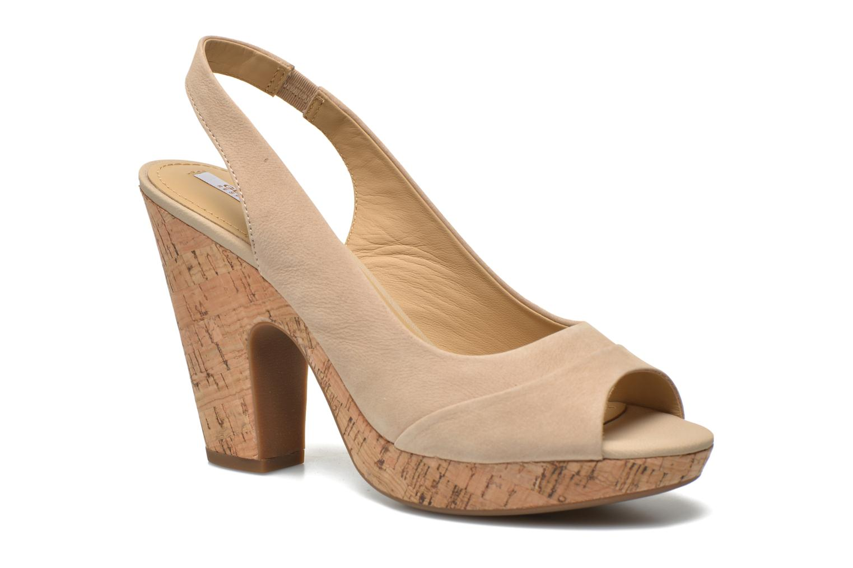 Sandali e scarpe aperte Geox D Nurit D5271B Beige vedi dettaglio/paio