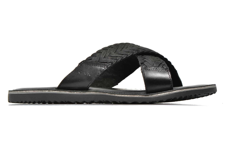 Sandales et nu-pieds Geox U Artie U52V1I Noir vue derrière