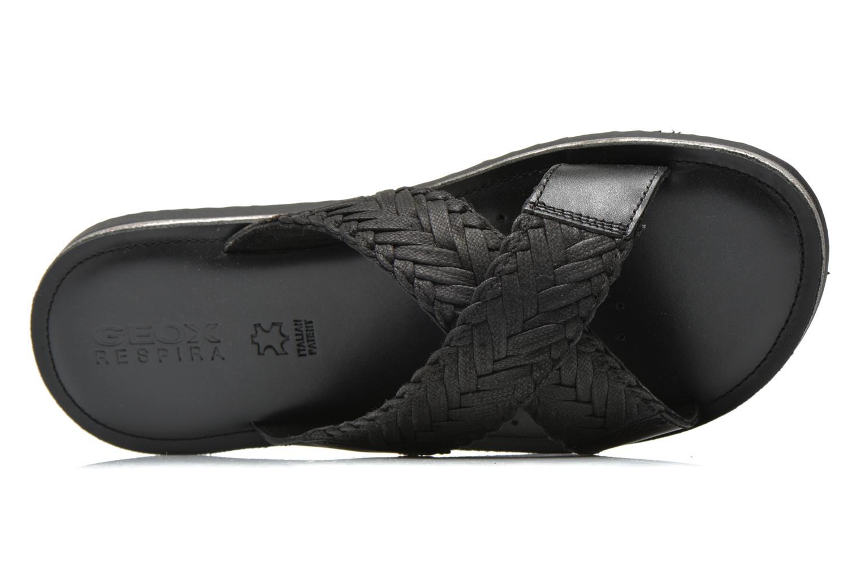 Sandales et nu-pieds Geox U Artie U52V1I Noir vue gauche