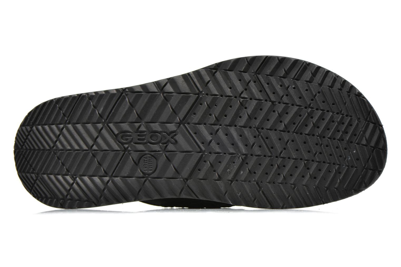 Sandales et nu-pieds Geox U Artie U52V1I Noir vue haut