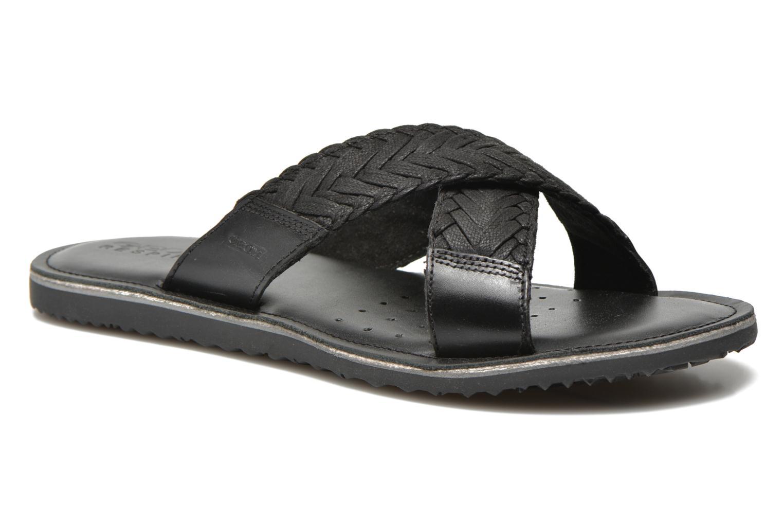 Sandales et nu-pieds Geox U Artie U52V1I Noir vue détail/paire