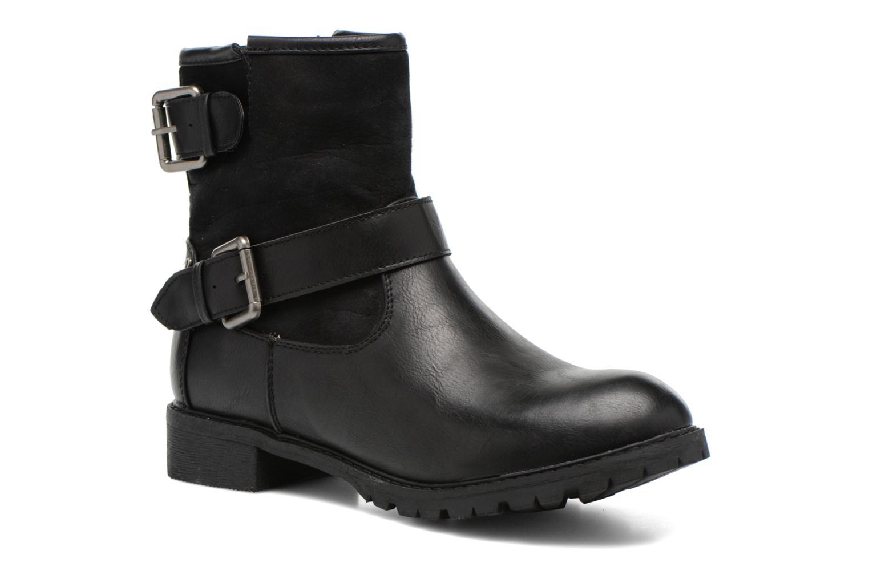Bottines et boots Refresh Melina-61416 Noir vue détail/paire